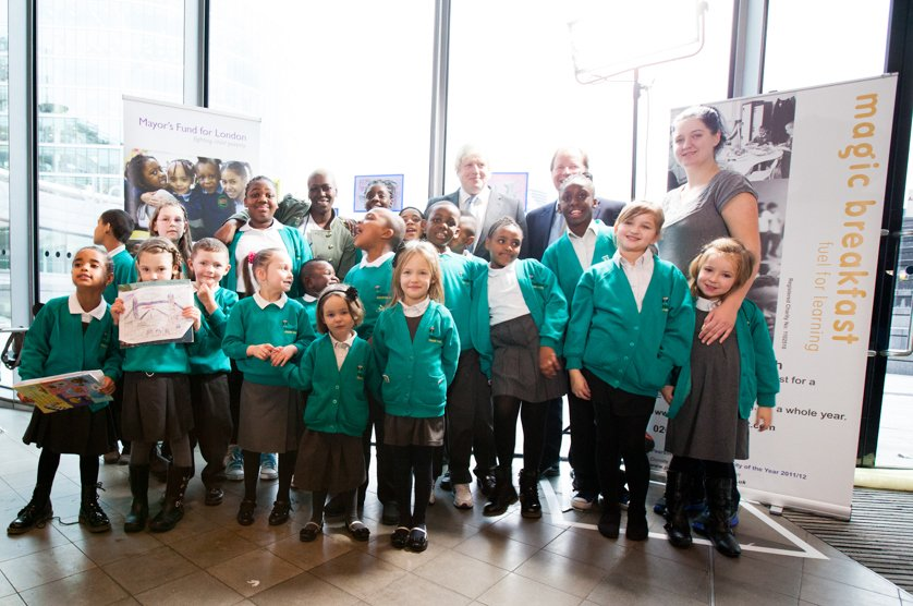 86% more children fed by the Magic Breakfast and Mayor's Fund for London partnership